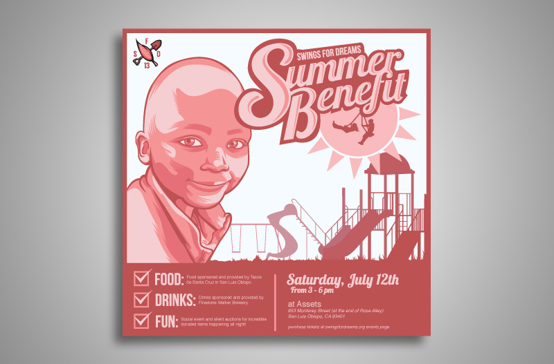 Summer Benefit Flyer